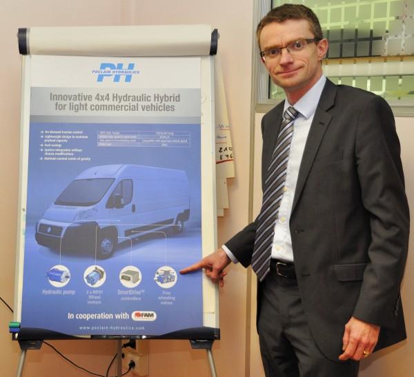 TORK 3 C de MONTESSUS présente  le système  de mobilité 4x4 de l'Expert  Photo A Monnot  autonewsinfo