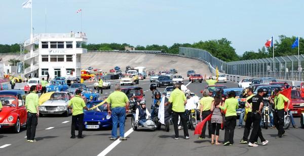UTAC 11 Autodrome Héritage Festival en juin 2012