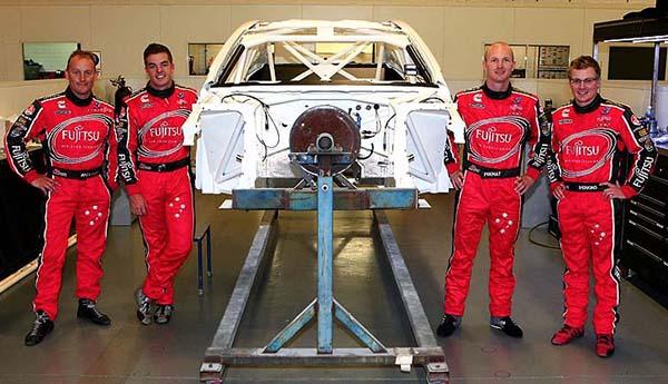 V8 SUPERCAR 2013 Les pilotes du TEAM GARY RODGERS (1)