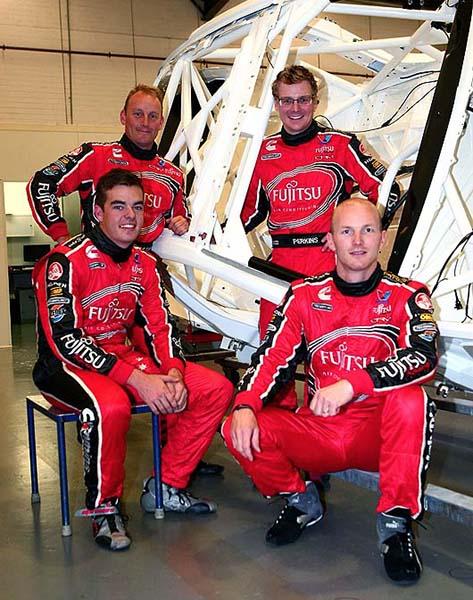 V8 SUPERCAR 2013 PILOTES TEAM GARY RODGERS AVEC ALEX PREMAT (1)
