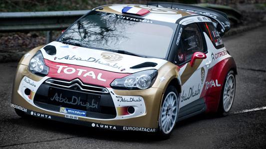 WRC 2013 DS3 Citroen en essai