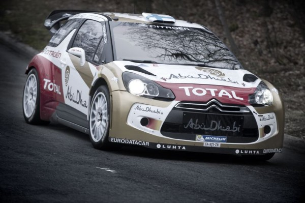 WRC 2013 DS3 HIRVONEN test avant MONTE CARLO  a