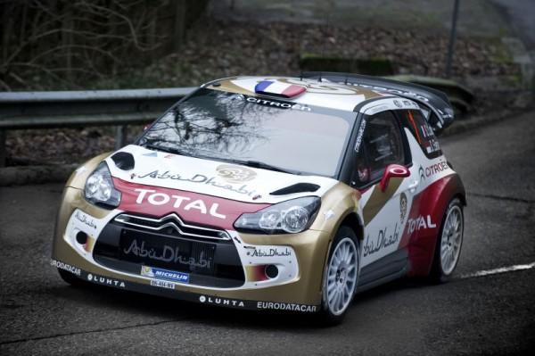 WRC 2013 DS3 HIRVONEN test avant MONTE CARLO d