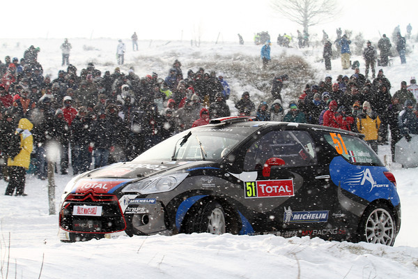 WRC 2013 MONTE CARLO CHARDONNET DS3 CITROEN Photo Jo LILLINI