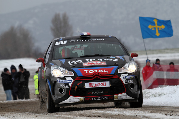 WRC 2013 MONTE CARLO CHARDONNET Photo Jo LILLINI