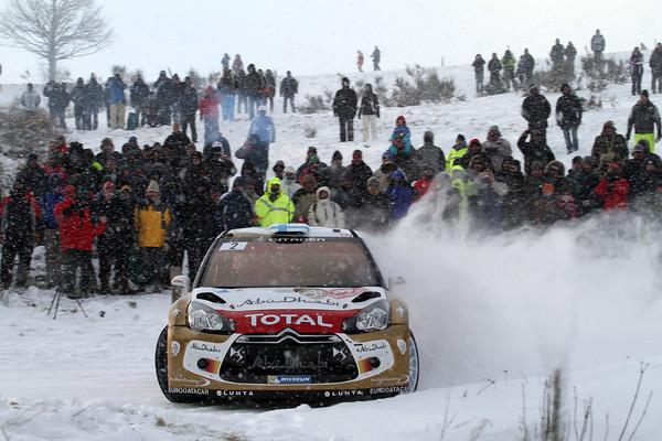 WRC 2013 MONTE CARLO CITROEN HIRVONEN  Photo Jo LILLINI