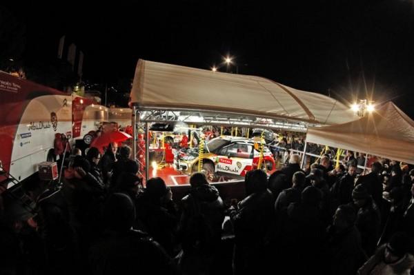 WRC 2013 MONTE CARLO CITROEN PARC ASSISTANCE