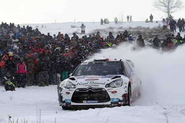 WRC 2013 MONTE CARLO DS3 Bryan BOUFFIER DS3 CITROEN Photo Jo LILLINI