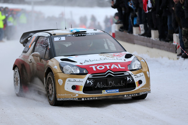 WRC 2013 MONTE CARLO DS3 CITROEN HIRVONEN  Photo Jo LILLINI