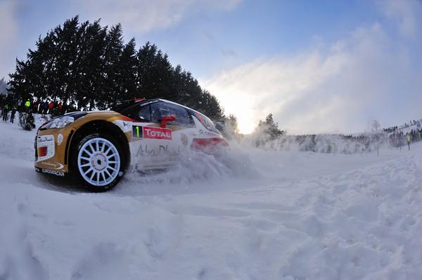 WRC 2013 MONTE CARLO DS3  CITROEN LOEB ELENA  Photo Jo LILLINI