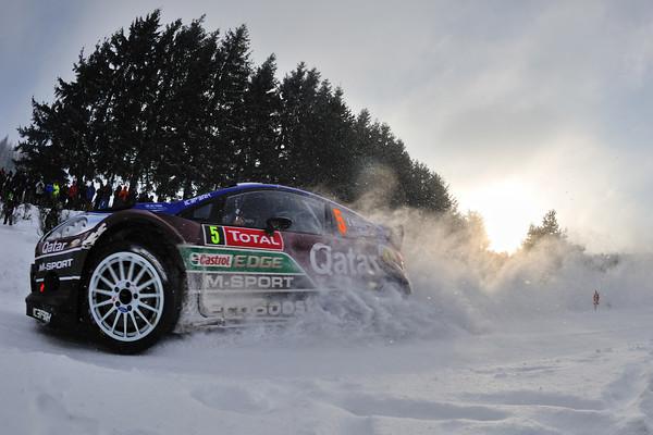 WRC 2013 MONTE CARLO FIESTA NOVIKOV  Photo Jo LILLINI