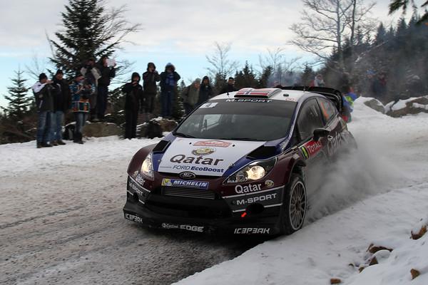WRC 2013 MONTE CARLO FIESTA OSTBERG  Photo Jo LILLINI