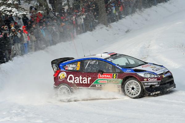 WRC 2013 MONTE CARLO FORD FIESTA NOVIKOV  Photo Jo LILLINI