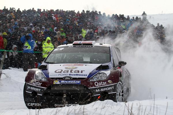 WRC 2013 MONTE CARLO FORD FIESTA de MADS OSTBERG   Photo Jo LILLINI