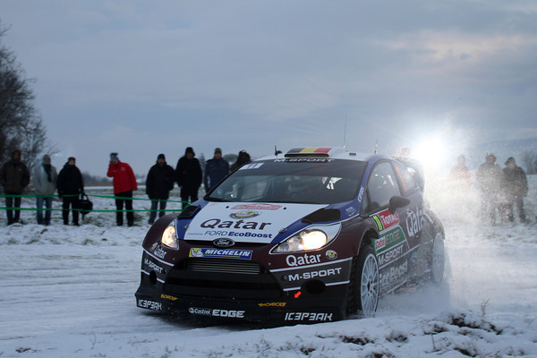 WRC 2013 MONTE CARLO FORD NEUVILLE photo Jo LILLINI