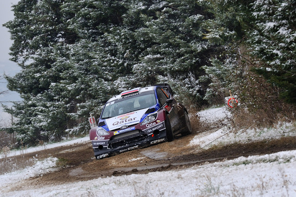WRC 2013 MONTE CARLO FORD NOVIKOV Photo Jo LILLINI
