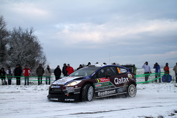 WRC 2013 MONTE CARLO HANNINEN FORD  Photo Jo LILLINI