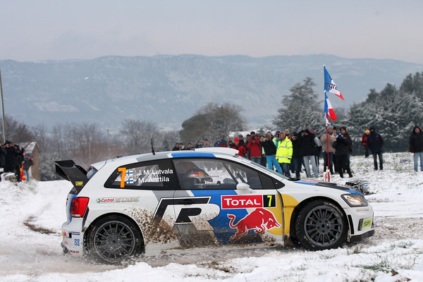 WRC 2013 MONTE CARLO LATVALA Photo Jo LILLINI