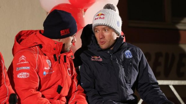 WRC 2013 MONTE CARLO LES DEUX SEB LOEB ET OGIER