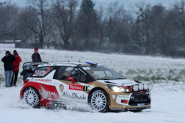 WRC 2013 MONTE CARLO LOEB Photo Jo LILLINI