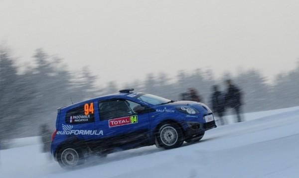 WRC 2013  MONTE CARLO   NELSON PANCIATICI et sa TWINGO