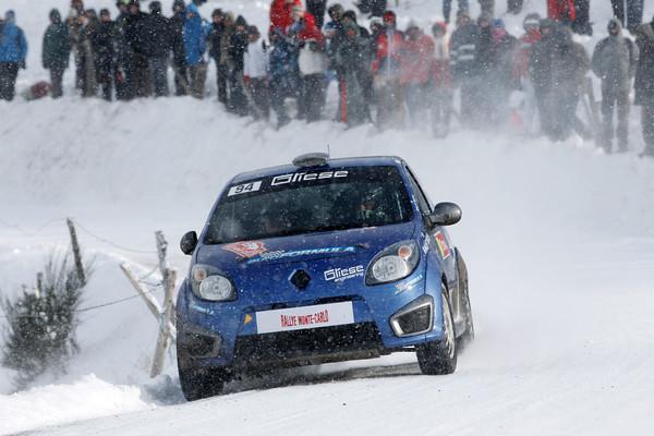 WRC 2013 MONTE CARLO PANCIATICI PADOVANI TWINGO R2 Photo Jo LILLINI aitonewsinfo