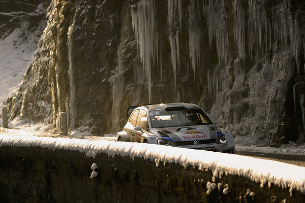 WRC 2013 MONTE CARLO POLO VW SEB OGIER vendredi