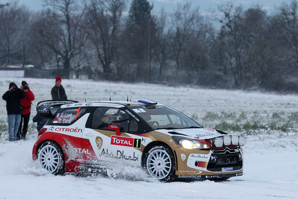 WRC 2013 MONTE CARLO SEB LOEB ES 2 Photo Jo LILLINI