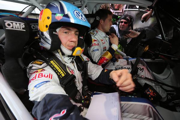 WRC 2013 MONTE CARLO SEB OGIER INGRASSIA COCKPIT  Photo Jo LILLINI