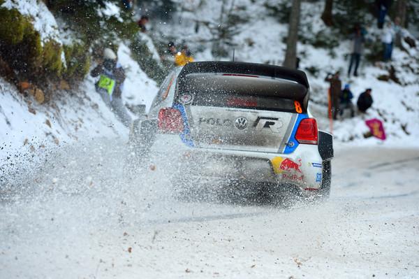 WRC 2013 MONTE CARLO SEB OGIER POLO  Photo Jo LILLINI
