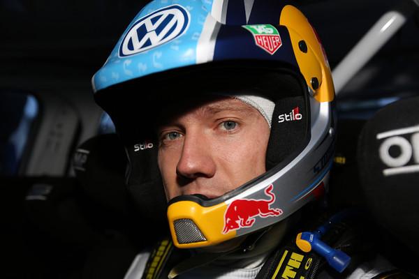 WRC 2013 MONTE CARLO SEB OGIER Potrait cockpit Photo Jo LILLINI