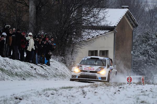 WRC 2013 MONTE CARLO SEB OGIER VW Photo Jo LILLINI