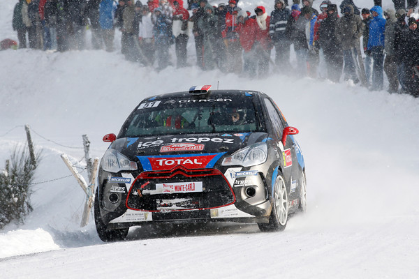 WRC 2013 MONTE CARLO  SEBASTIEN CHARDONNET Photo Jo LILLINI
