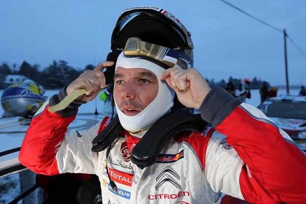 WRC 2013 MONTE CARLO SEBASTIZN LOEB Leader 1ere journee  Photo Jo LILLINI