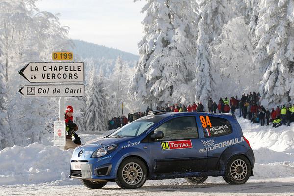 WRC 2013 MONTE CARLO TWINGO PANCIATICI PADOVANI photo Jo LILLINI