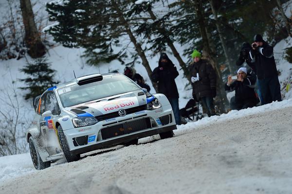 WRC 2013 MONTE CARLO VOLKSWAGEN de SEB OGIER  Photo JO LILLINI