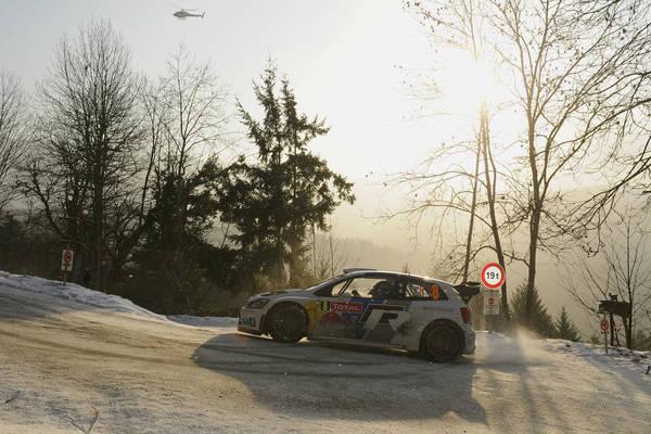 WRC 2013 MONTE CARLO VW POLO Num 8 Seb OGIER