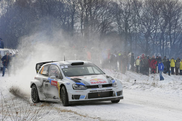 WRC 2013 MONTE CARLO VW POLO de Seb OGIER