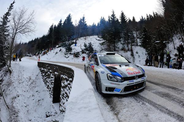 WRC 2013 MONTE CARLO VW SEB OGIER   Photo Jo LILLINI