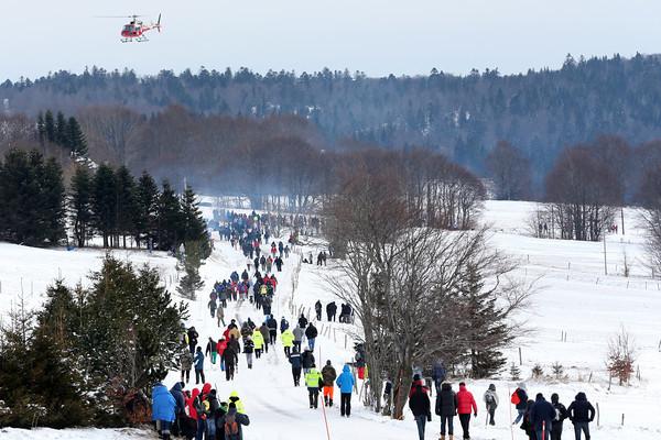 WRC 2013 MONTE CARLO le public dans les speciales Photo Jo LILLINI