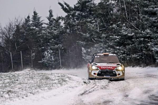 WRC 2013 RALLYE MONTE CARLO DANI SORDO  CITROEN DS3