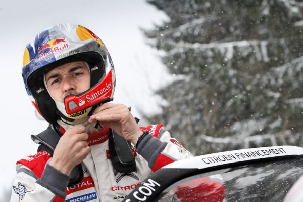 WRC 2013 RALLYE MONTE CARLO DANI SORDO portrait casque