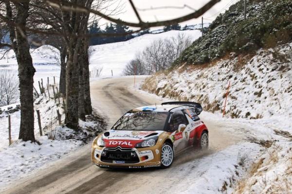 WRC 2013 RALLYE MONTE CARLO DS3 CITROEN de MIKKO HIRVONEN