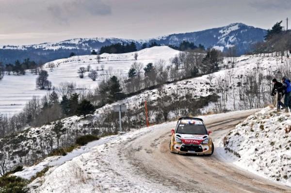 WRC 2013 RALLYE MONTE CARLO DS3 CITROEN de SEBASTIEN LOEB