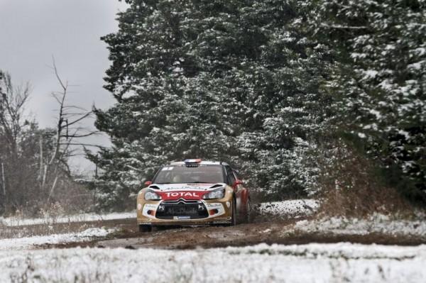 WRC 2013 RALLYE MONTE CARLO DS3 SEB LOEB