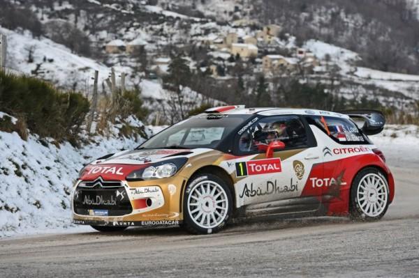 WRC 2013 RALLYE MONTE CARLO SEB LOEB