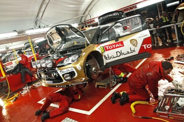 WRC 2013 RALLYE MONTE CARLO STAND CITROEN