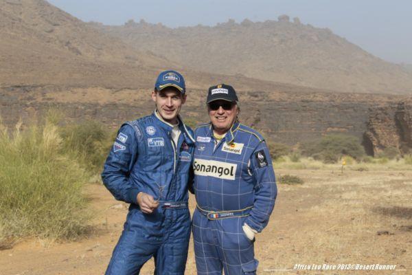 SCVHLESSER ET SHIBALOV, GRANDS GAGNANTS DE L'AFRICA RACE 2013