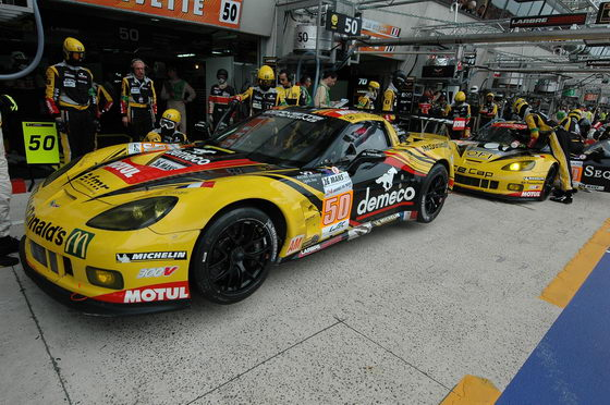 24 HEURES DU MANS 20122 CORVETTE LARBRE Stands Photo Thierry COULIBALY autonewsinfo