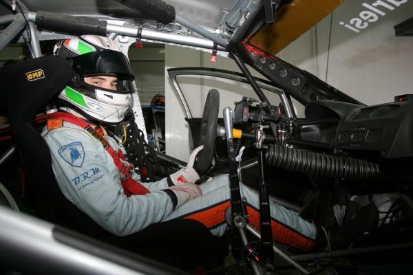 ANDREA BARLESI 2012 VALENCIA WTCC cockpit SEAT